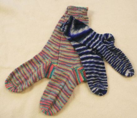 Basic Socks, Knitting Pattern